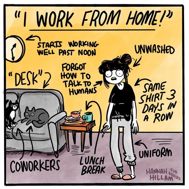 I work from home meme brilliant WAHM memes