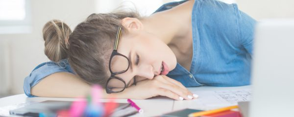 sleeping woman - ways to boost your energy levels