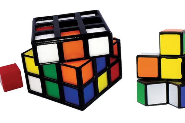 Rubik's Edge and Rubik's Cage